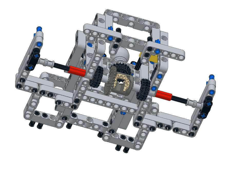 Fllcasts Differential Lock On Bigdaddy Competition Robot