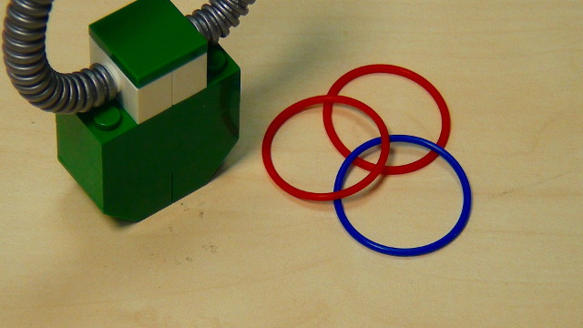 Rubber bands used at FLLCasts.com