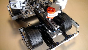 Two rear motors on BigDaddy Competition Construction Robot (Part 10)